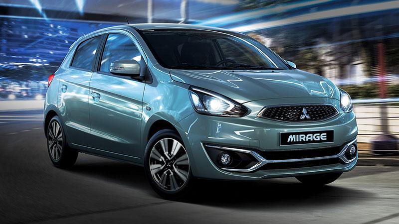 Diện mạo mới - Mitsubishi Mirage