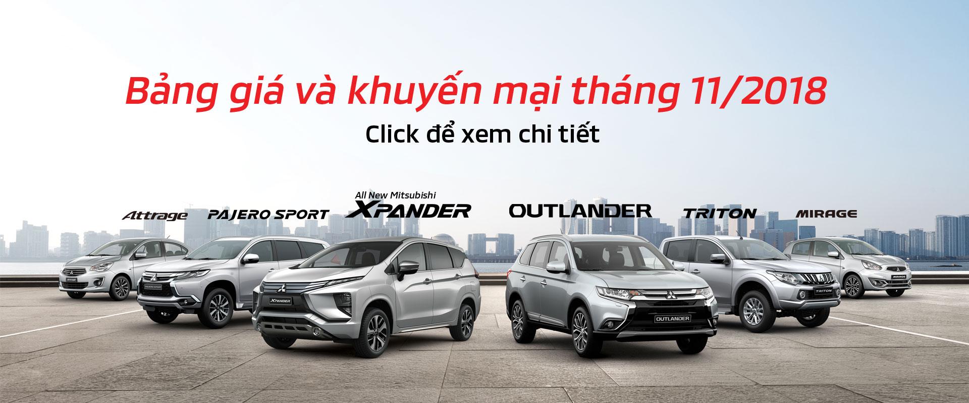 Khuyến mại Mitsubishi